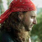 Pirata divisando el mar