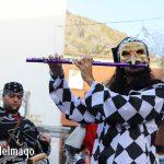 Flautista arlequín