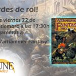 Partida de Warhammer Fantasy en Dune Comics (Granada)