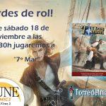 II Partida de 7º Mar en Dune Comics (Granada)
