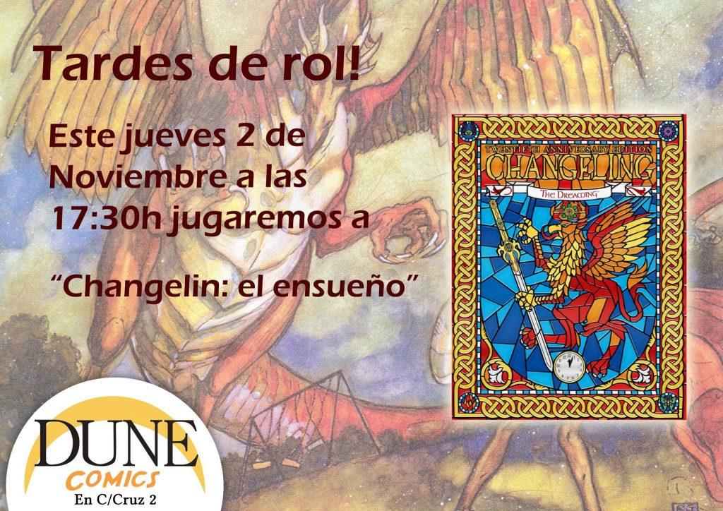 campaña de Changelin en Granada
