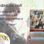 Partida de 7º Mar en Dune Comics (Granada)